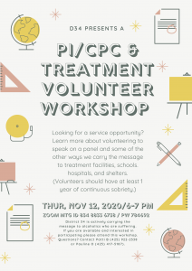 Panel Workshop - Treatment